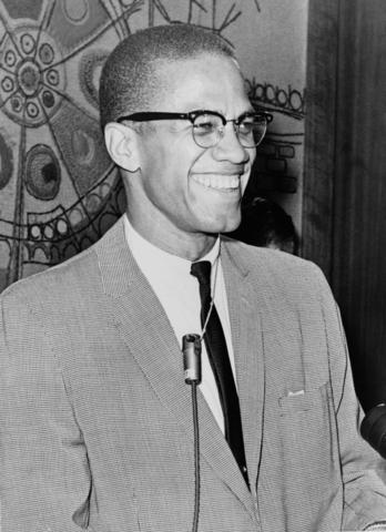 Malcolm X shot dead