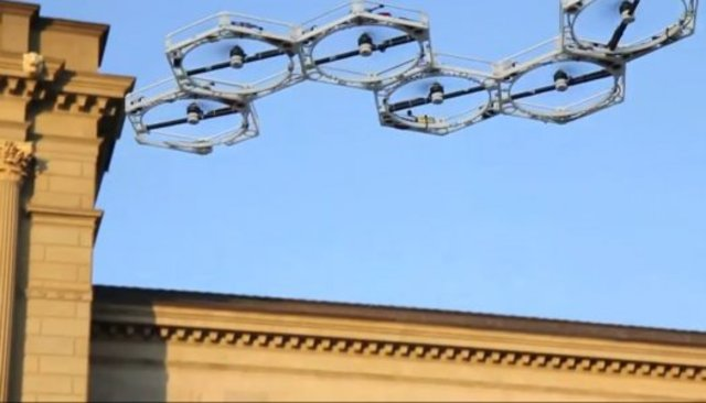 Honeycomb drone