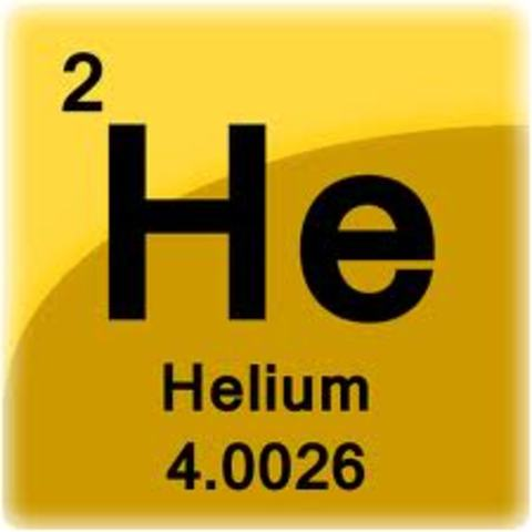 Discovery of element 2 - Helium