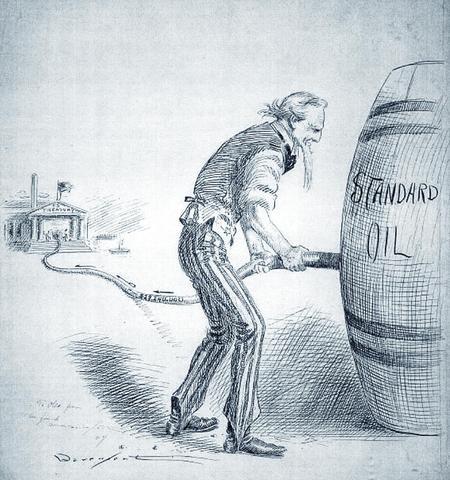 John D Rockefeller establishes Standard Oil of Ohio