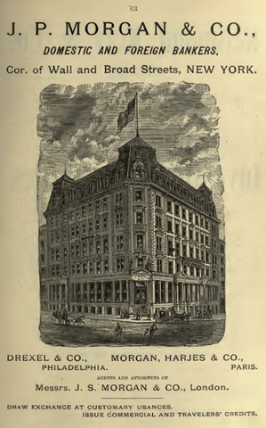 JP Morgan & Co. Founded