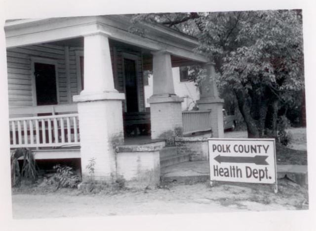 Health Department Building in 1948
