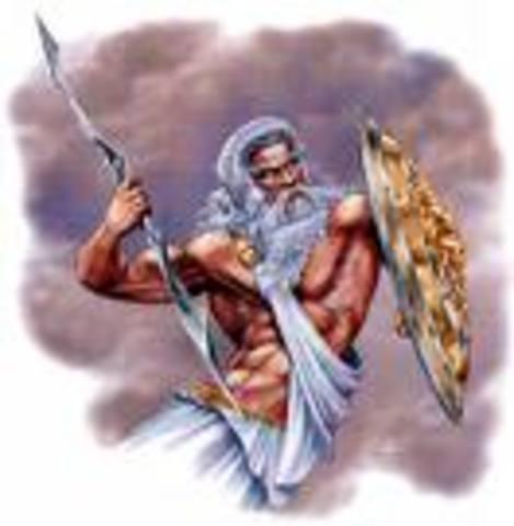Helios Cattle & Zeus' lightning bolt