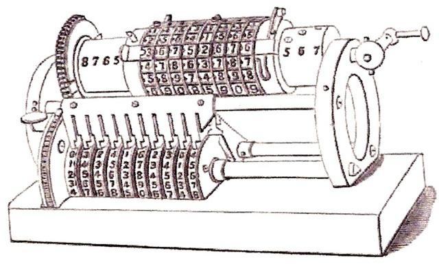 Charles Xavier Thomas de Colmar inventó en  una calculadora ( Arithnometer )