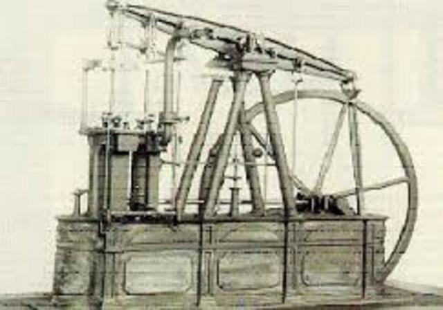 Maquina de vapor 1774 DC