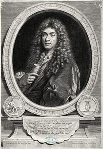 Mor Jean-Baptiste Lully (1632-87)