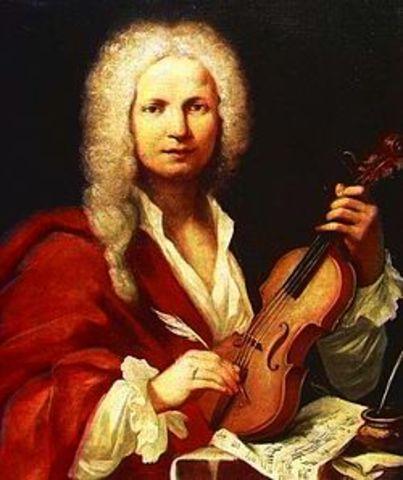 Neix Antonio Vivaldi (1678-1741)