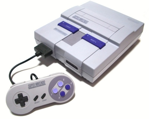 Super Nintendo Entertainment System (SNES) (Best-selling game: Super Mario World)