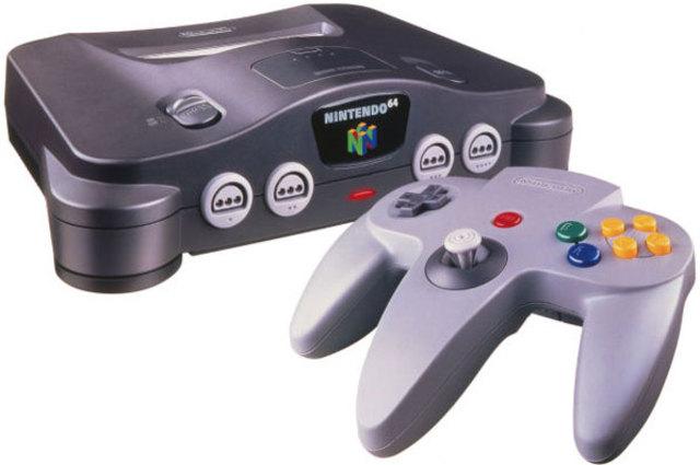 Nintendo 64 (Best-selling game: Super Mario 64)