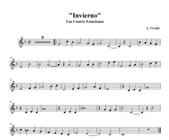 Les Quatre estacions, Vivaldi
