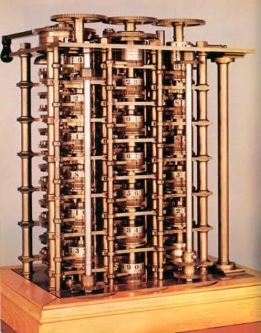 Maquina Diferencial de Charles Babbage
