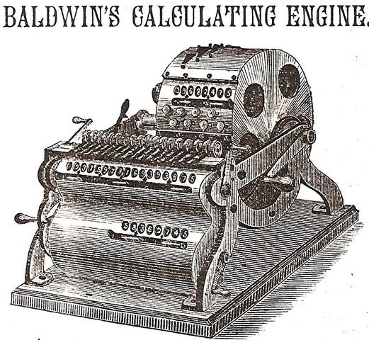 Calculadora de Frank S. Baldwin