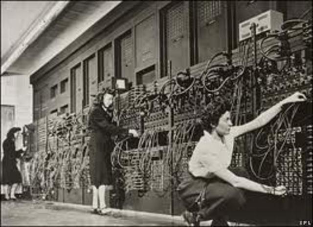 ENIAC de John W. Mauchly y J. Prester Eckert Jr.