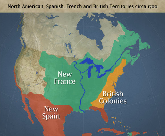 Land During the 1700's