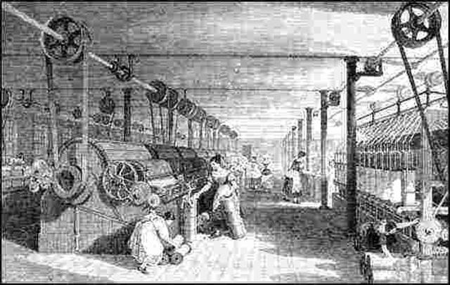 Inicia la industria textil