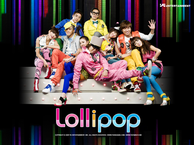 Release of Big Bang's 'Lollipop' featuring 2NE1 for the first time