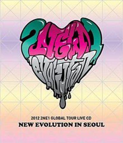 2012 2NE1 Global tour: New Evolution (live in Seoul) album release
