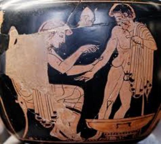 MEDICINA EN GRECIA (IX - V a.c.)