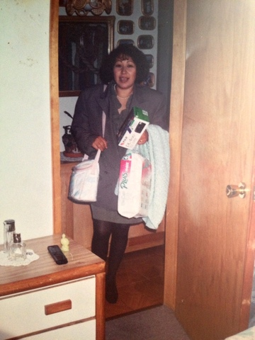 Mi mamá y su trabajo