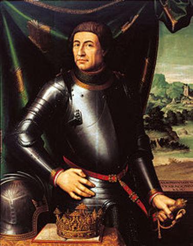 Muerte de Alfonso V de Aragón