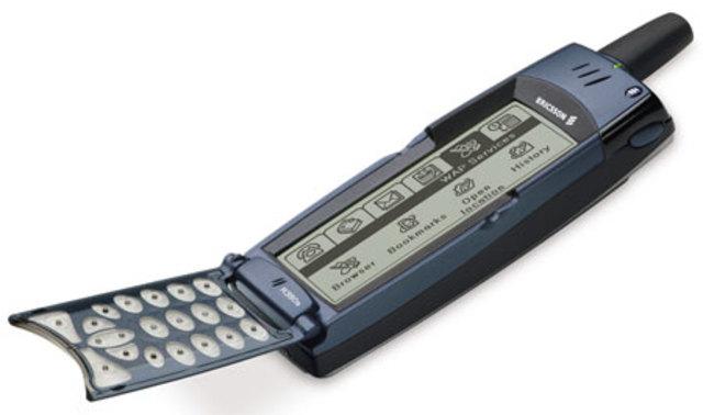 Primer teléfono móvil con pantalla táctil