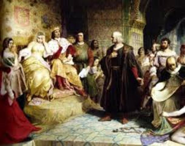 Católicos patrocinan la expedición de Colón al Occidente