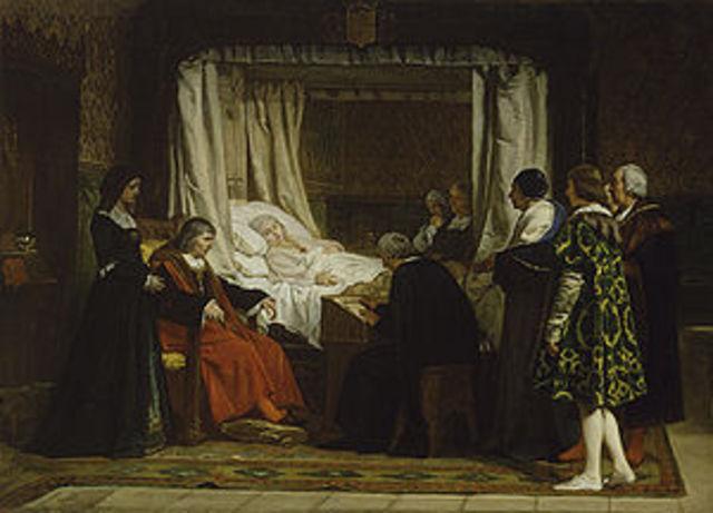 Muere Isabel la Católica en Medina del Campo