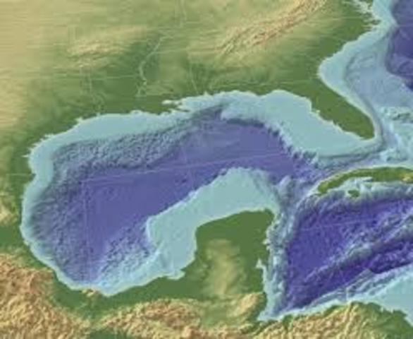 Juan de Grijalva descubre y explora las costas del golfo de México