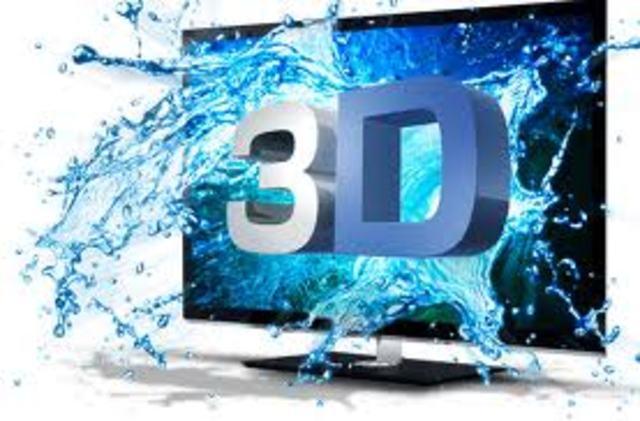 Salen al mercado los primeros televisores en3D.