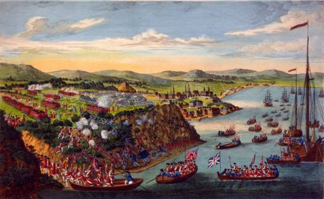 Battle of the Plains of Abraham takes place