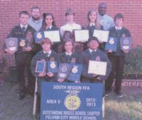 • FFA Discovery Degree is available for middle school FFA members