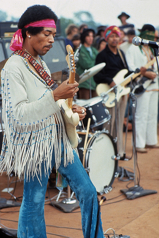 Jimi Hendrix was born