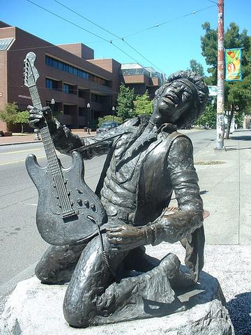 The tragic death of Jimi Hendrix