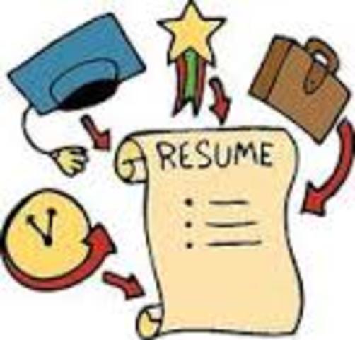 Resume Created