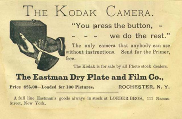 Kodak Camera & Roll-Film Patented