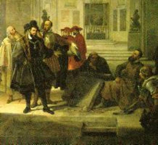 Muere Martín Lutero en Eisleben