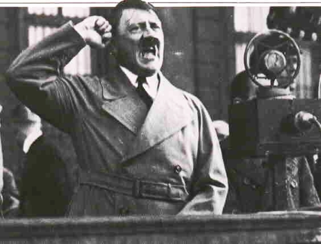 Hiler openly defies the Treaty of Versailles