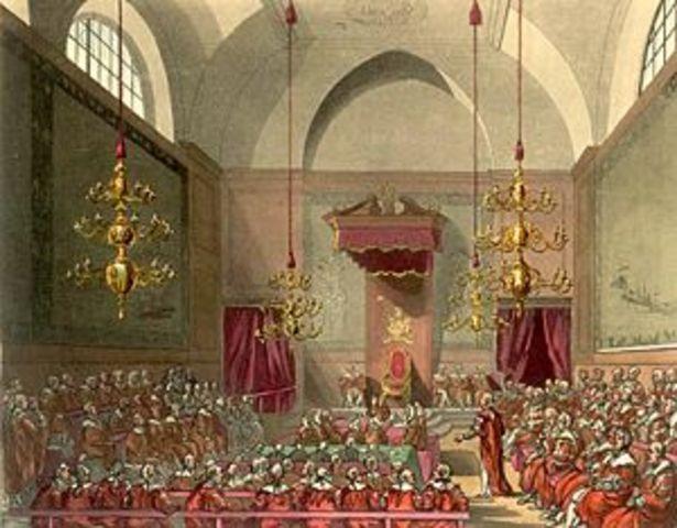 abolición de la Cámara de los Lores