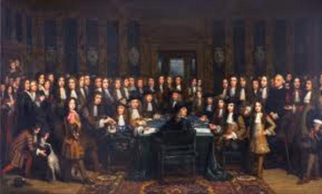 Inglaterra firmó la paz con Holanda
