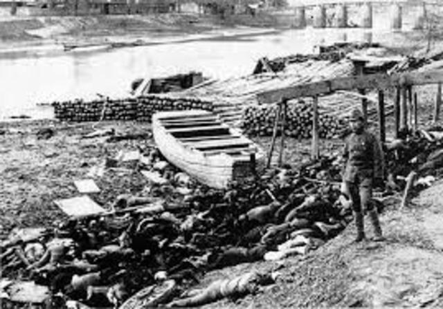 Japan takes Nanking