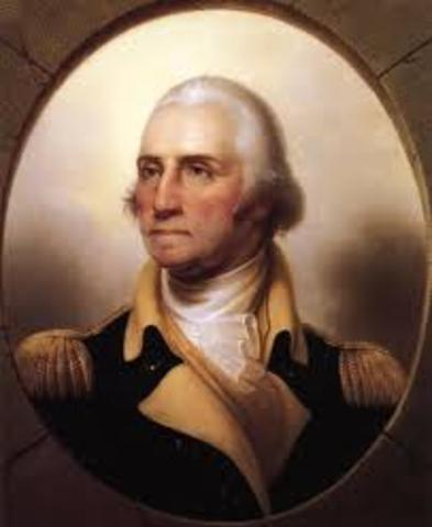 George Washington es nombrado general