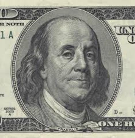 Benjamin Franklin es nombrado presidente del Comité de Seguridad de Filadelfia.