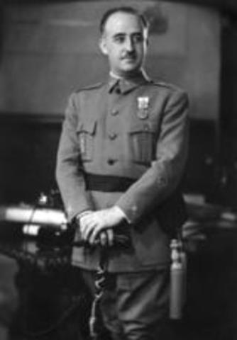 Franco Becomes Spains Ruler