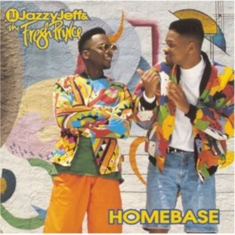 """Will's Smith's first album """"Homebase"""""""