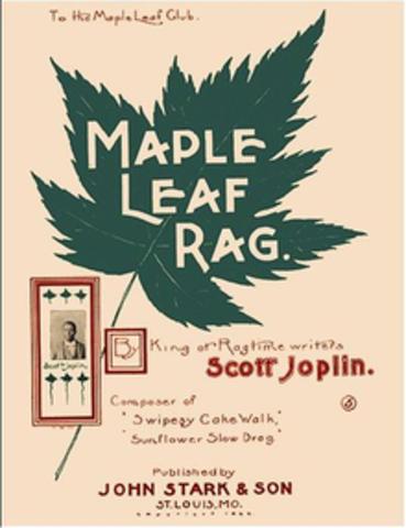 Scott Joplin's published Maple Leaf Rag