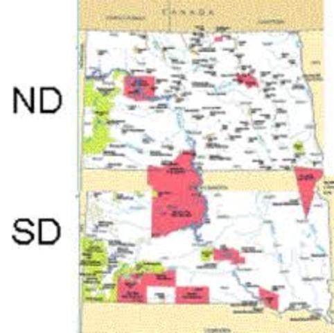 North and South Dakota join U.S