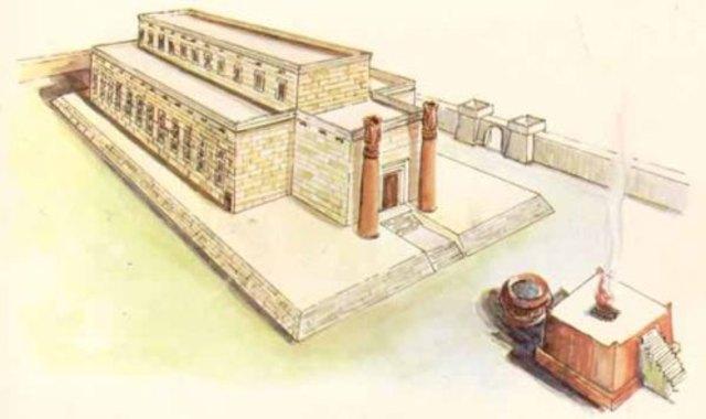King Solomon's temple - 970 BC