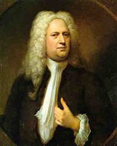 George Frideric Handel is Born.