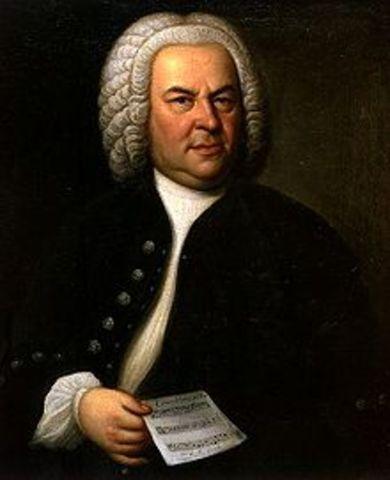 Johann Sebastian Bach is born.