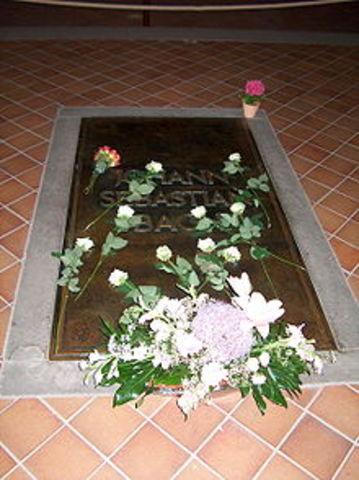 Bach Dies.